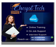 dotnet online training/job support/interview support by cheyat tech