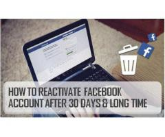How To Reactivate Facebook Account After 30 Days?