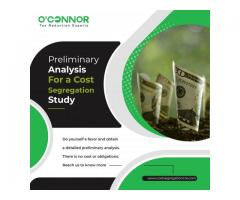 Preliminary analysis for cost segregation study