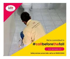 #CallBeforeTheFall providing #antislip #safety services for #bathrooms across #India