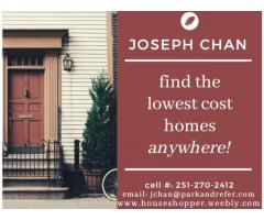 Find the lowest cost homes anywhere!