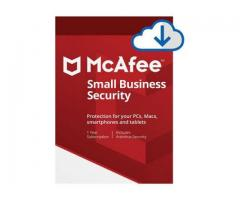 Buy McAfee Small Business Antivirus 5 Devices - SoftBest2Buy