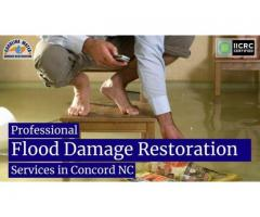 Professional Flood Damage Restoration Services in Concord NC