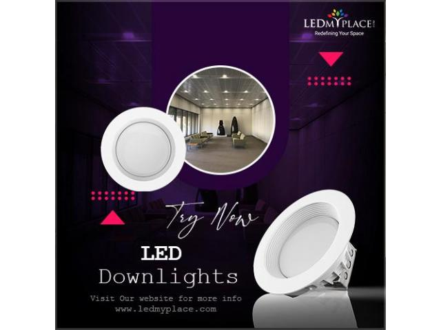 Enhance Your Bedroom Decoration with Attractive LED Downlights!