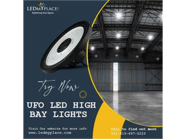 Get a Robust Lighting to Improve Safety of Warehouse!