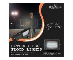 Grab More Clear Vision at Workplace with LED Flood Lights!