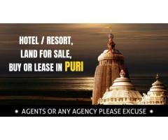 Running Hotels, Resorts are Ready to Sale at Puri