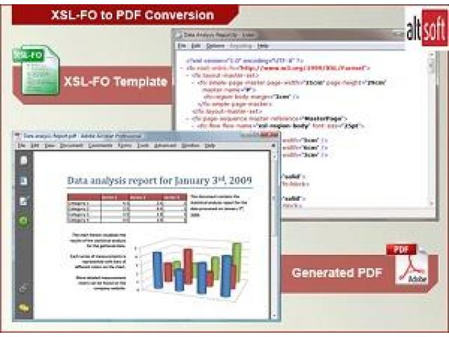 Easily Convert Your XML files to PDF with Altsoft's XML to PDF Converter