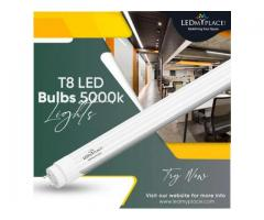 Grab Most Suited Lighting for like offices with T8 LED Bulbs 5000K!