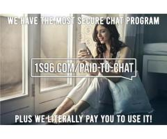 UNBELIEVABLE Chat App ~ Pays You to USE!