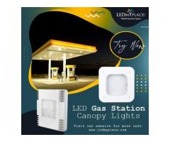 Enhance Your Business With Powerful And Attractive LED Gas Station Canopy Lights!