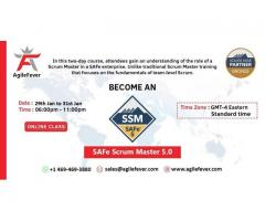 SAFe Scrum Master 5.0  | AgileFever | Certification | SAFe 5.0   | Virtual Classes | SSM |