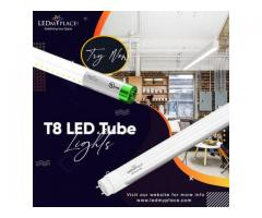 Grab T8 LED Tube Light Fixtures with Amazing Plug and Play Feature!