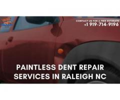 Paintless Dent Repair Services in Raleigh NC