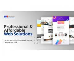 Building professional and affordable websites for small businesses
