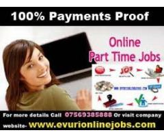 Full Time Part Time Home Based Data Entry Operator And Computer Typing job