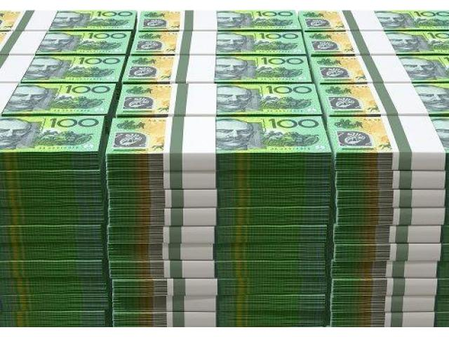 Buy counterfeit money and use it to trade the financial market