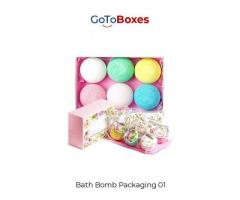 Custom Bath Bomb Boxes - Bath Bomb Containers