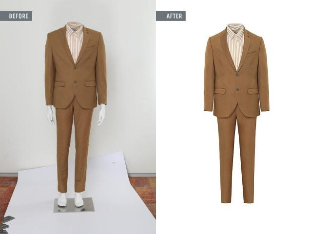 Ghost Mannequin Image Retouching Services increase your Business Sale
