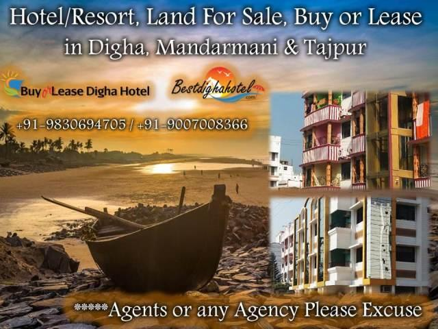 Running Hotels are Available for Sale at Digha and Tajpur