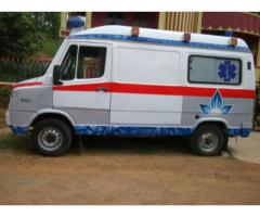 Well Condition Used Ventilator Ambulance at a Nominal Prices